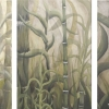bamboo visions triptych
