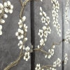 charcoal blossom - on wall