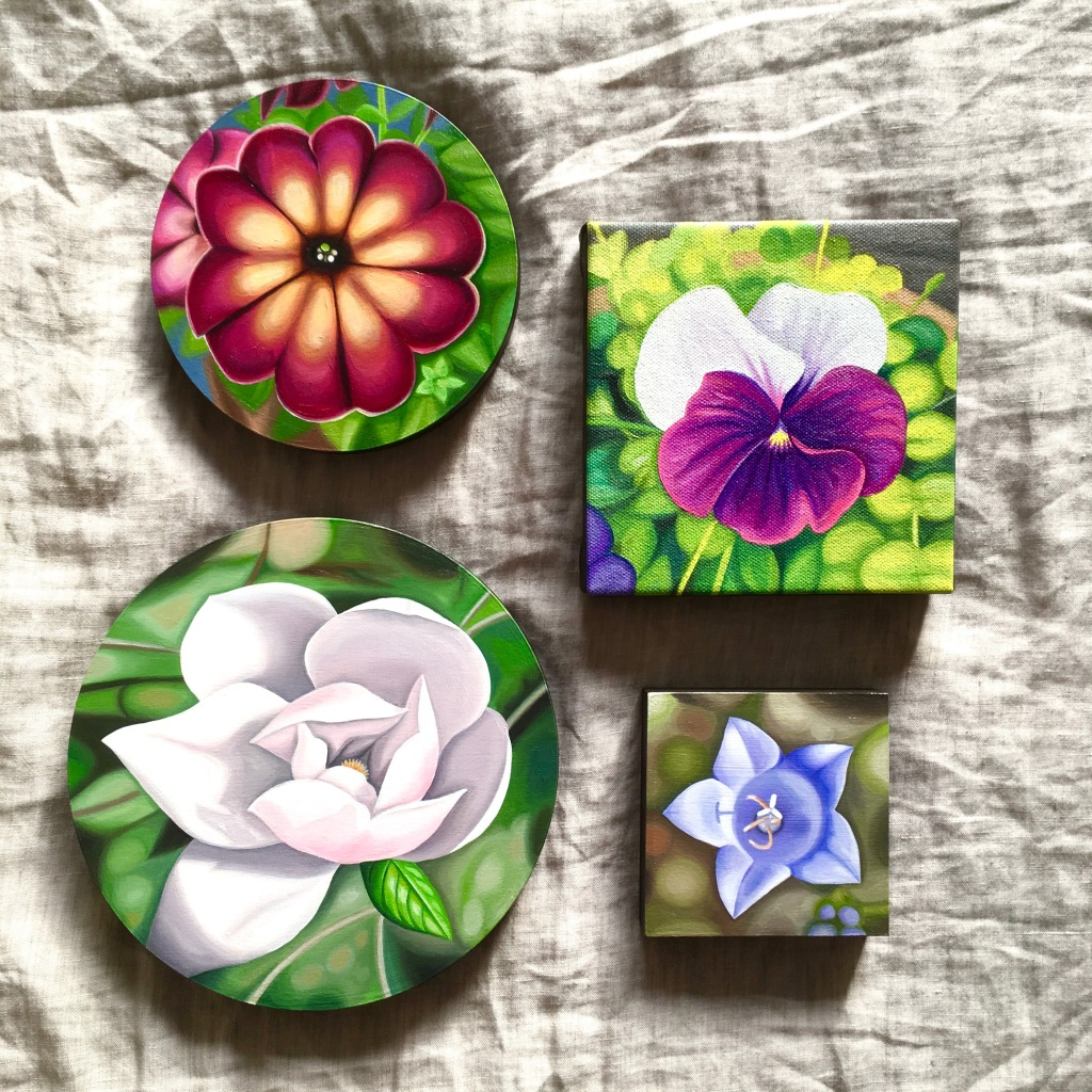 new vintage flora series