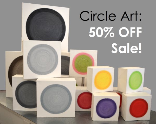 circle art sale header
