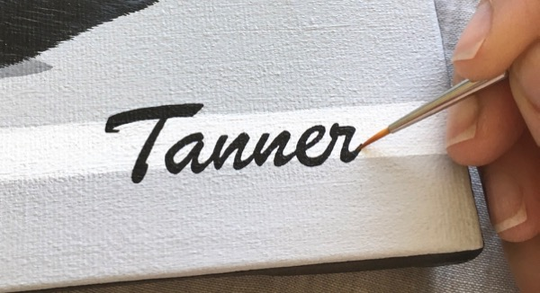 tanner name text