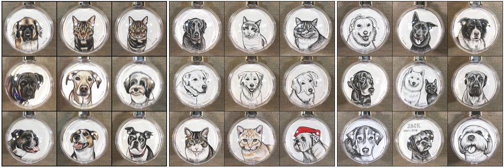 xmas ornaments 2019